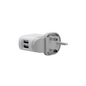 Photo of Belkin F8Z240UK Dual USB Rotating Charger Adaptors and Cable