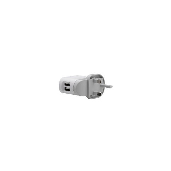 Belkin F8Z240uk Dual USB Rotating Charger