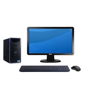 """Photo of Dell Inspiron 545 / 8707 With 20"""" Monitor Desktop Computer"""