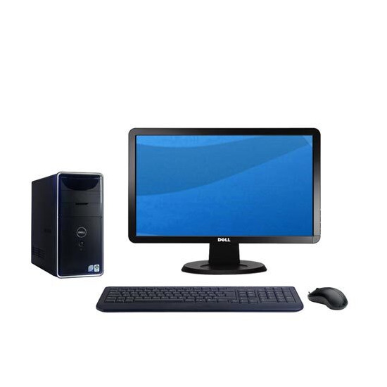 "Dell Inspiron 545 / 8707 with 20"" monitor"