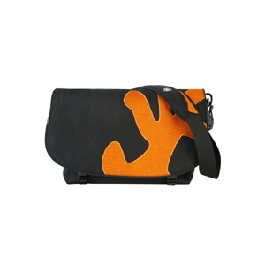 Photo of Crumpler Sticky Date Big Logo - Notebook Carrying Case - Black and Orange Computer Case