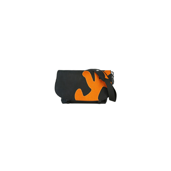 Crumpler Sticky Date Big Logo - Notebook carrying case - black and orange
