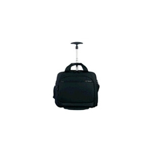 Photo of Samsonite 750 Series PRO-DLX Prox Rolling Tote - Notebook Carrying Case - Black Laptop Bag