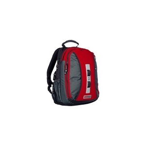 Photo of STM Large Loop - Notebook Carrying Backpack - Red, Charcoal Laptop Bag