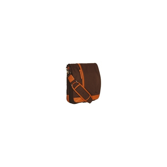 STM Small Loft - Notebook carrying case - orange, chocolate
