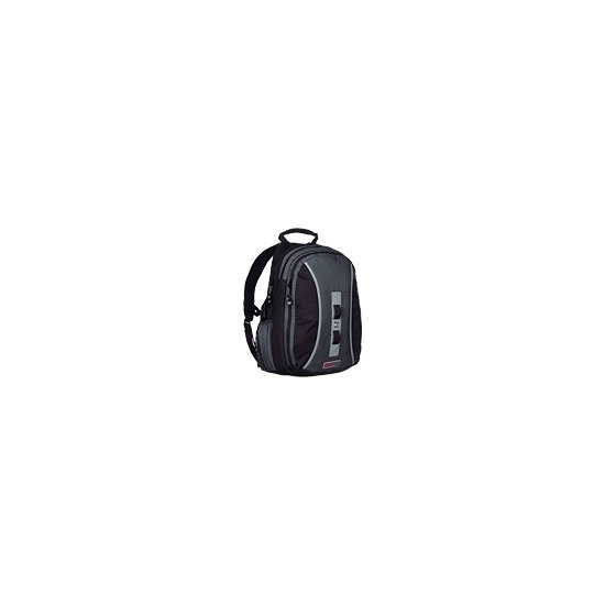 STM Large Loop - Notebook carrying backpack - black, charcoal