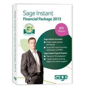 Photo of Sage Instant Financial Package 2013 Software