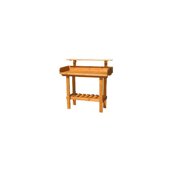 Delux Wooden Potting Table