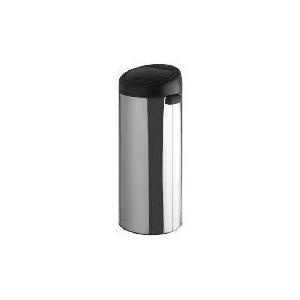 Photo of Brabantia 30L Brilliant Steel Black Lid Bin