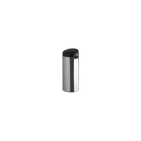 Brabantia 30L Brilliant Steel Black Lid