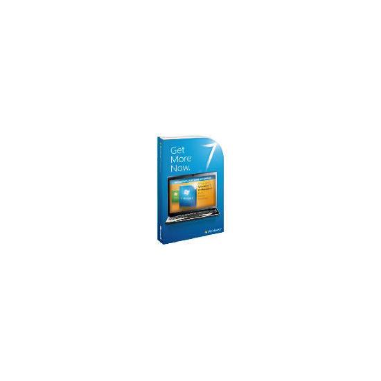 Microsoft Windows 7 Professional (Upgrade from Windows 7 Home Premium)