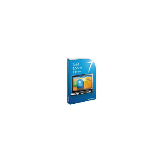 Microsoft Windows 7 Professional (Upgrade from Windows 7 Home Premium)