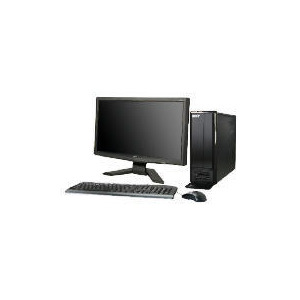 "Photo of Acer Aspire X1301 With 19""Monitor Desktop Computer"