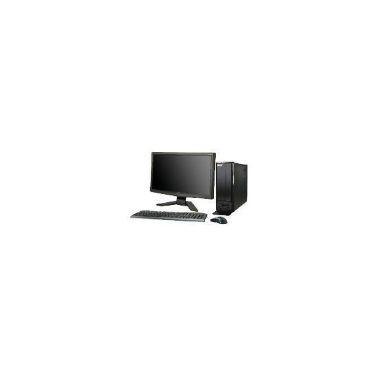 """Acer Aspire X1301 with 19""""Monitor"""