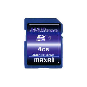 Photo of Maxell 4GB SDHC Card Memory Card