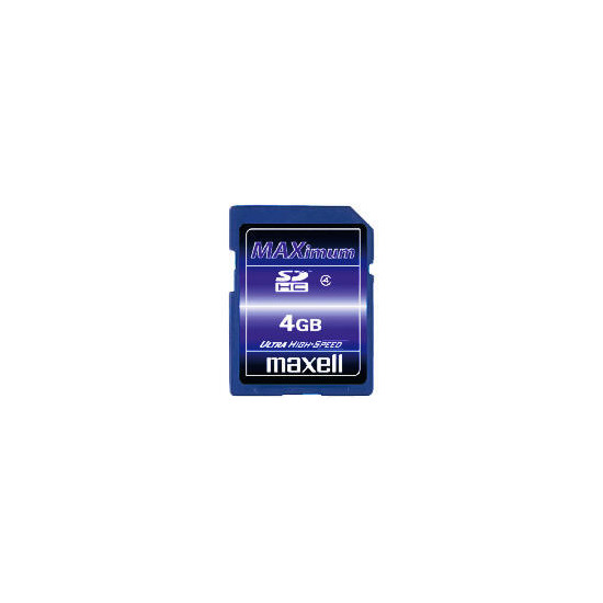 Maxell 4GB SDHC Card