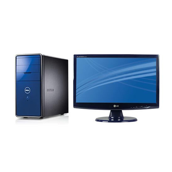 """Dell Inspiron 545 / 9148 with 18.5"""" LG monitor"""
