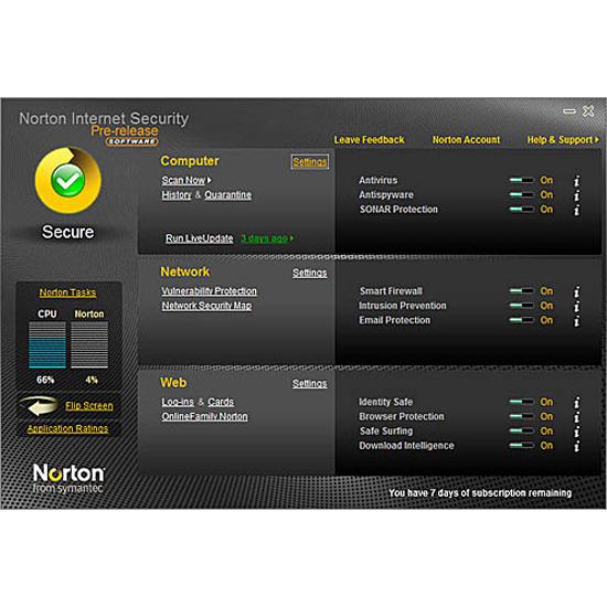 Symantec Norton Internet Security 2010