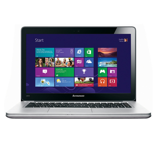 "Lenovo Ideapad U410 14"" Laptop - Graphite Grey"