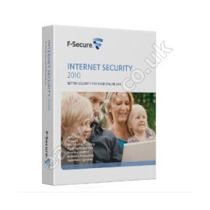 Photo of F-Secure Internet Security 2010 Retail Box -  3 Licenses Software