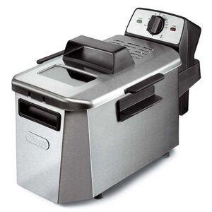 Photo of DeLonghi F24402CZ PremiumFRY Coolzone Fryer Stainless Steel Deep Fat Fryer