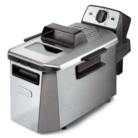 Delonghi F24402CZ PremiumFRY Coolzone Fryer Stainless Steel