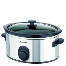 Breville 4.5l Polished Stainless Steel Slow Cooker Vtp041 Reviews