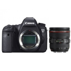 Photo of Canon EOS 6D With 24-70MM F/4L IS USM Lens Digital Camera