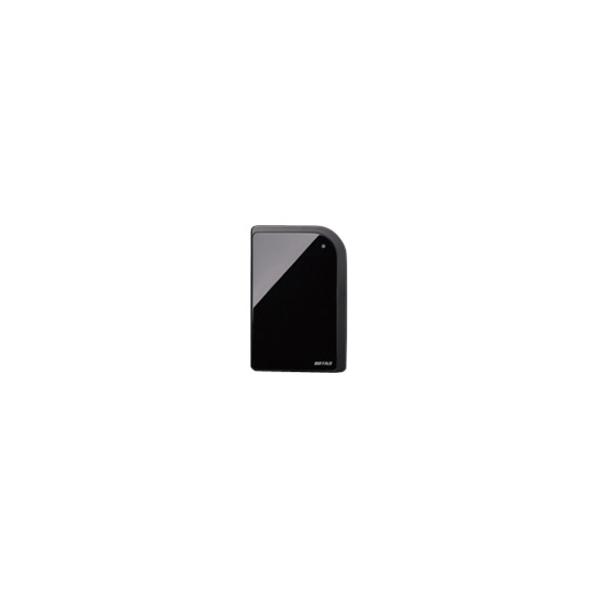 Buffalo MiniStation Metro Portable - Hard drive - 320 GB - external - Hi-Speed USB - black
