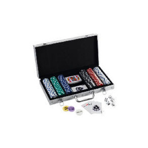 Photo of 300 Chip Poker Set Board Games and Puzzle