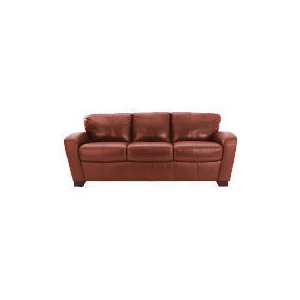 Photo of Maine Leather Sofa Large, Cognac Furniture