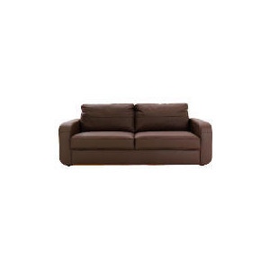 Photo of Lyon Leather Sofa Large, Chocolate Furniture