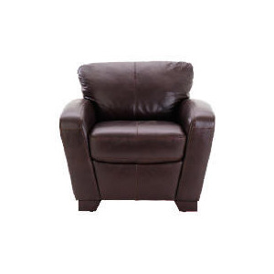 Photo of Maine Leather Armchair, Chocolate Furniture