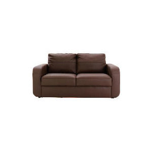 Photo of Lyon Leather Sofa Regular, Chocolate Furniture