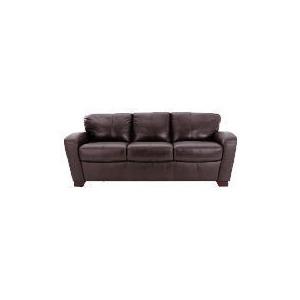 Photo of Maine Leather Sofa Large, Chocolate Furniture