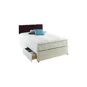 Photo of Sealy Classic Passion Super King 4 Drawer Divan Set Bedding