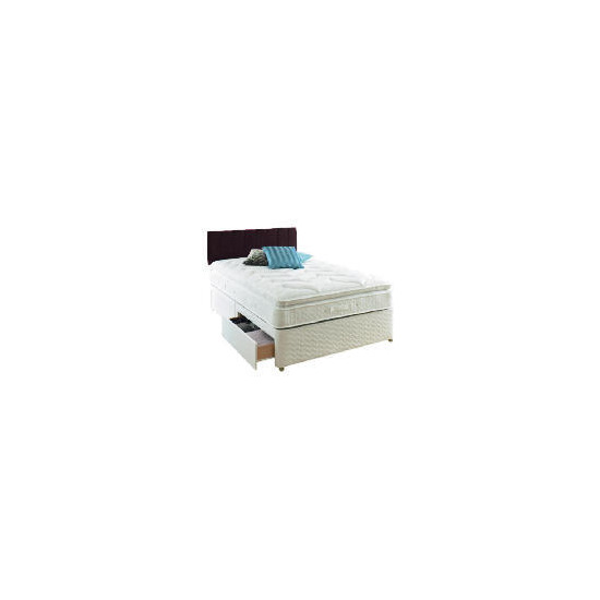 Sealy Classic Passion Super King 4 Drawer Divan Set