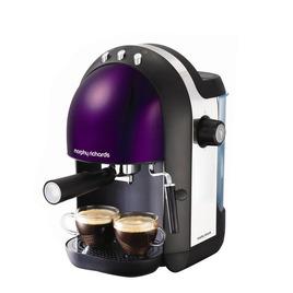 Morphy Richards Meno Espresso Machine - Plum Reviews