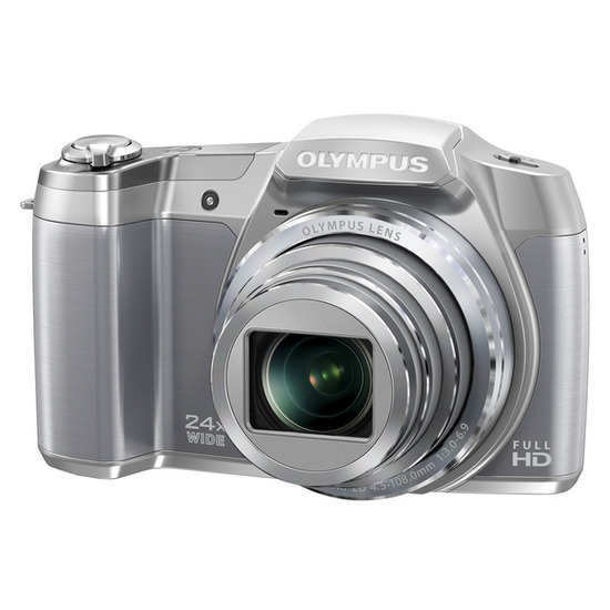Olympus SZ-16 Superzoom Compact Digital Camera - Silver