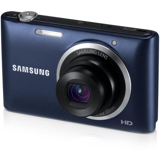 Samsung ST72 Compact Digital Camera - White