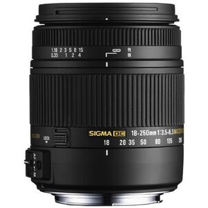 Photo of Sigma 18-250MM F/3.5-6.3 Macro For Canon Lens