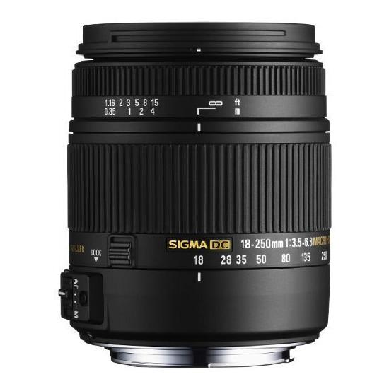 Sigma 18-250mm f/3.5-6.3 Macro for Canon