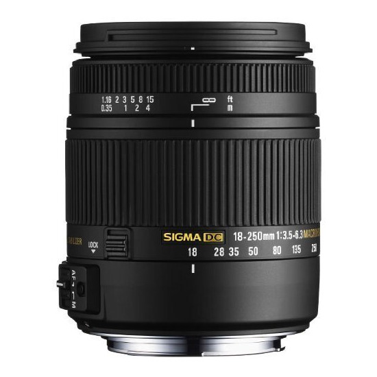 Sigma 18-250mm f/3.5-6.3 Macro for Canon