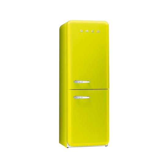 SMEG FAB32QVE Fridge Freezer - Lime Green