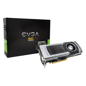 Photo of EVGA GeForce GTX Titan - 6GB Graphics Card