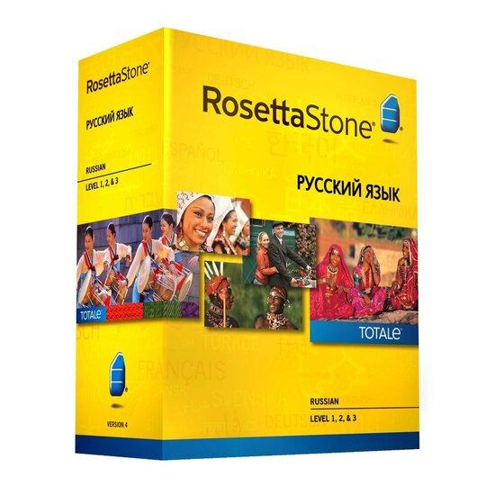 Rosetta Stone TOTALe: Russian Version 4 Level 1-3 (Mac/PC)