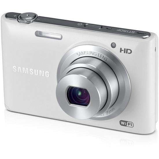 Samsung EC-ST150F Smart Compact Digital Camera - White