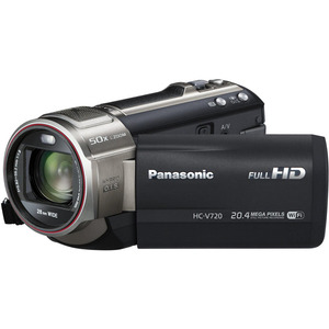 Photo of Panasonic HC-V720EB-K Camcorder