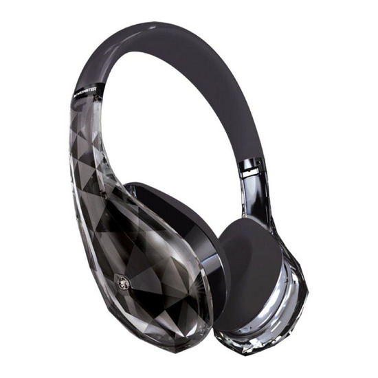 MONSTER Diamond Tears Edge Headphones - Black