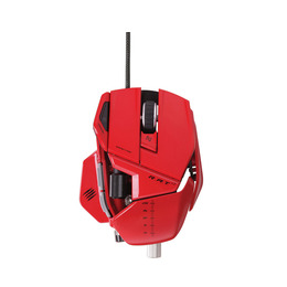 MAD CATZ R.A.T. 7 Laser Gaming Mouse - Red